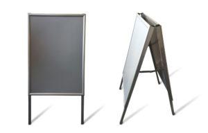 А-образный штендер с двумя плоскостями
